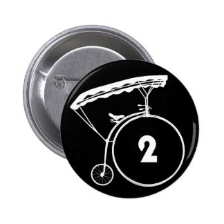 The Prisoner Number Two 2 Button Badge