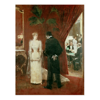 The Private Conversation, 1904 Postcard