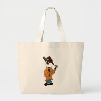 The Private Eye Large Tote Bag