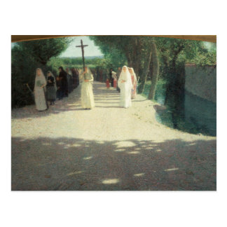 The Procession, 1892-95 Postcard