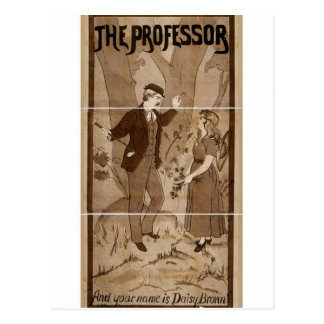 The Professor, 'And your name is Daisy Brown' Postcard