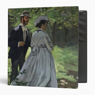 The Promenaders, or Bazille and Camille, 1865 Binders