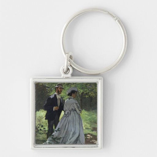 The Promenaders, or Bazille and Camille, 1865 Key Chains