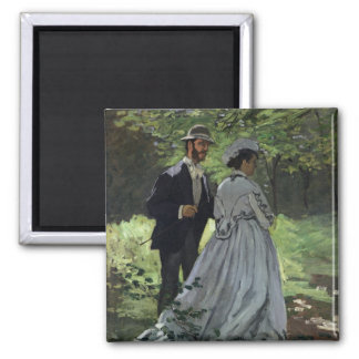 The Promenaders, or Bazille and Camille, 1865 Magnets
