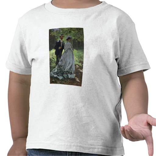 The Promenaders, or Bazille and Camille, 1865 Tee Shirts