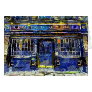 The Prospect Of Whitby Pub Art Card