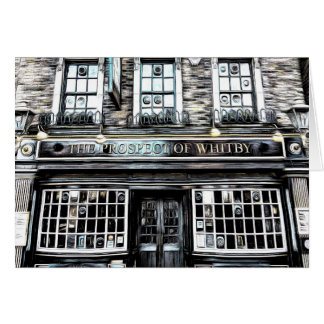 The Prospect Of Whitby Pub Card