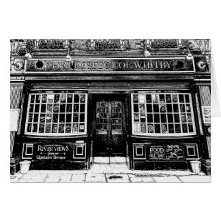 The Prospect Of Whitby Pub London Art Card
