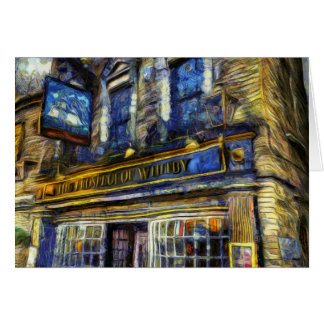 The Prospect Of Whitby Pub Van Gogh Card