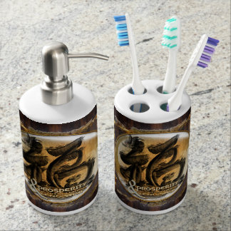 THE PROSPERITY CONNEXION : Art of Chinese Fengshui Bathroom Set