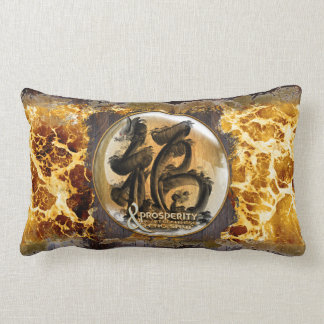 THE PROSPERITY CONNEXION : Art of Chinese Fengshui Lumbar Pillow
