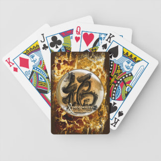 THE PROSPERITY CONNEXION : Art of Chinese Fengshui Poker Deck