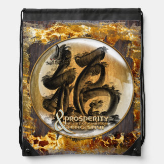 THE PROSPERITY CONNEXION : Art of Fengshui Drawstring Bag
