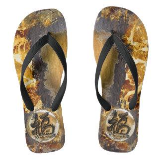 THE PROSPERITY CONNEXION : Art of Fengshui Flip Flops