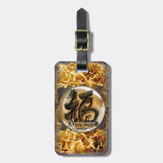 THE PROSPERITY CONNEXION : Art of Fengshui Luggage Tag