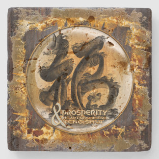 THE PROSPERITY CONNEXION : Art of Fengshui Stone Coaster