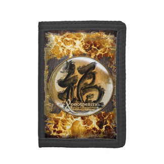 THE PROSPERITY CONNEXION : Art of Fengshui Tri-fold Wallet