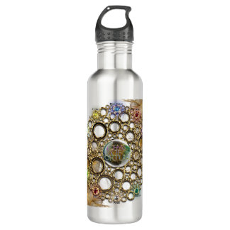 THE PROSPERITY CONNEXION : Gems of Fortune 710 Ml Water Bottle