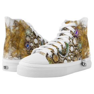 THE PROSPERITY CONNEXION : Gems of Fortune High Tops