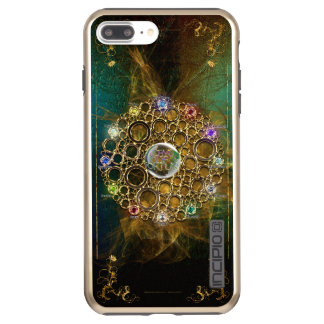 THE PROSPERITY CONNEXION : Gems of Fortune Incipio DualPro Shine iPhone 8 Plus/7 Plus Case