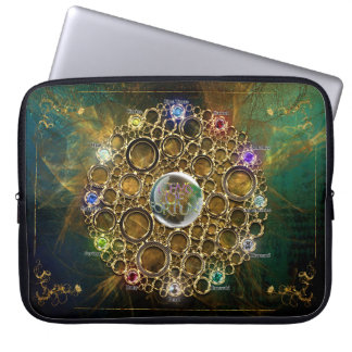 THE PROSPERITY CONNEXION : Gems of Fortune Laptop Sleeve