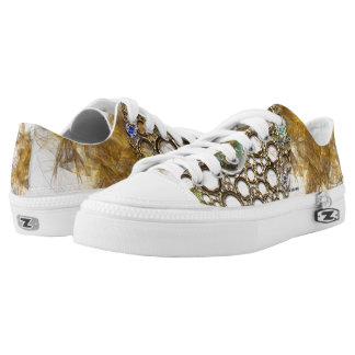 THE PROSPERITY CONNEXION : Gems of Fortune Low-Top Sneakers
