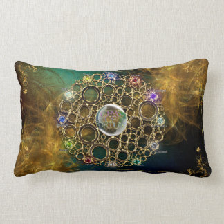THE PROSPERITY CONNEXION : Gems of Fortune Lumbar Pillow