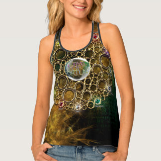 THE PROSPERITY CONNEXION : Gems of Fortune Tank Top