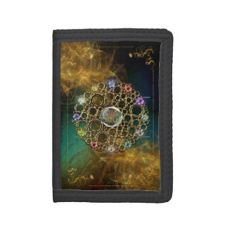 THE PROSPERITY CONNEXION : Gems of Fortune Trifold Wallet
