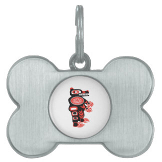 The Protective One Pet Name Tag