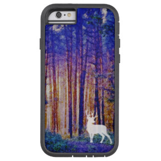 The Protector - White Stag in a Mystical Forest Tough Xtreme iPhone 6 Case
