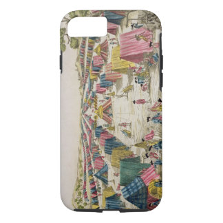 The Prussian Army Camp, Drawn from Life on the Fie iPhone 7 Case