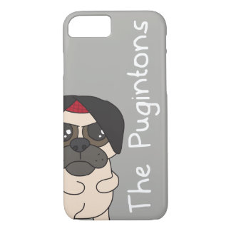 The Pugintons: Kevin - iPhone case