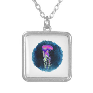 THE PULSE SILVER PLATED NECKLACE