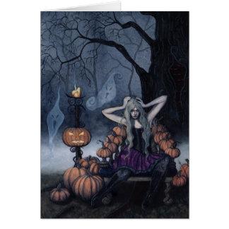 The Pumpkin Queen card