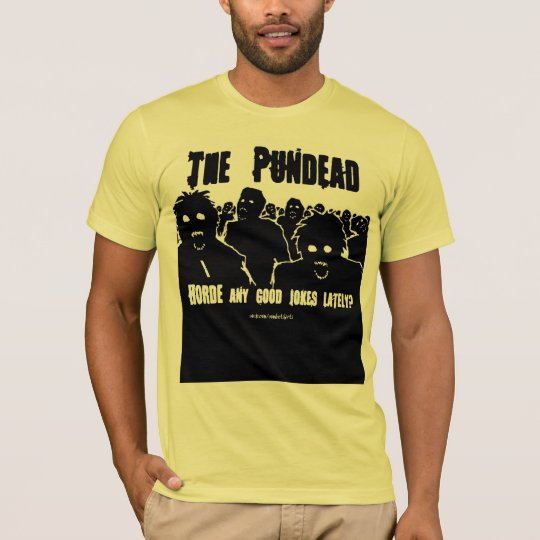 The Pundead Zombie T-shirt