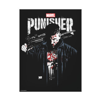 The Punisher | Jon Quesada Cover Art Canvas Print