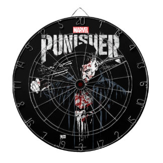 The Punisher | Jon Quesada Cover Art Dartboard