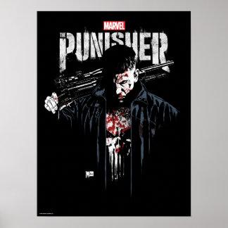 The Punisher | Jon Quesada Cover Art Poster