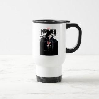 The Punisher | Jon Quesada Cover Art Travel Mug