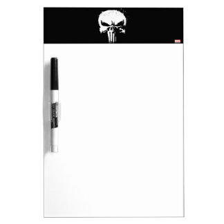 The Punisher | Painted Skull Logo Dry Erase Board