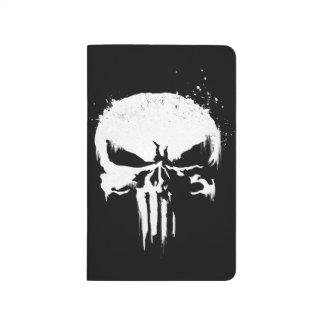 The Punisher | Painted Skull Logo Journal