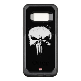 The Punisher | Painted Skull Logo OtterBox Commuter Samsung Galaxy S8 Case
