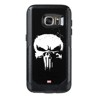 The Punisher | Painted Skull Logo OtterBox Samsung Galaxy S7 Case