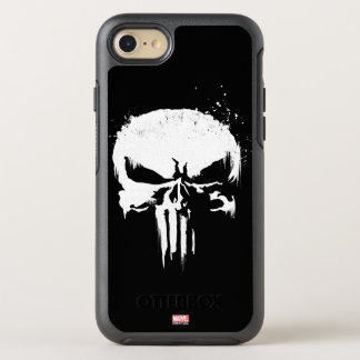 The Punisher | Painted Skull Logo OtterBox Symmetry iPhone 8/7 Case