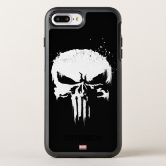 The Punisher | Painted Skull Logo OtterBox Symmetry iPhone 8 Plus/7 Plus Case