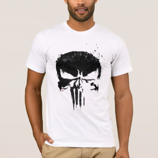 The Punisher | Painted Skull Logo T-Shirt