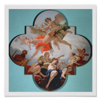 The Punishment of Cupid (oil on canvas) Poster