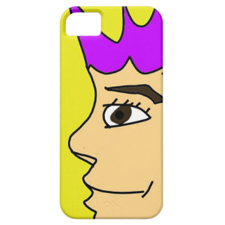 The punk guy cartoon iPhone 5 case
