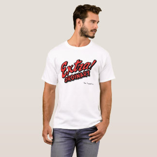 The Puppeters Premium Quality Mens Extra Ordinary T-Shirt